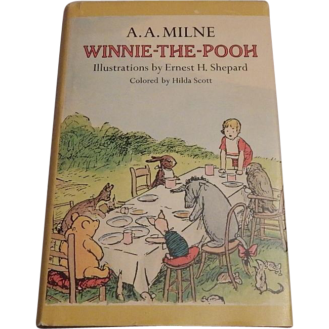 Winnie-The-Pooh by A. A. Miline 1974