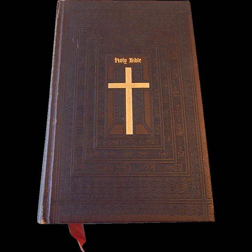 Catholic Family Edition Of The Holy Bible