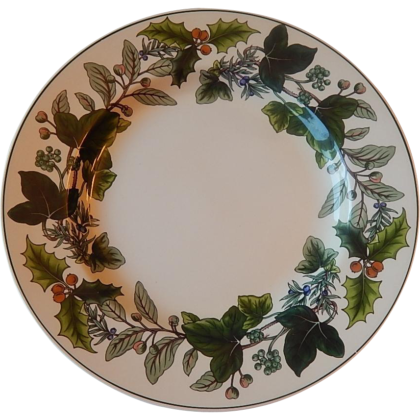 Spode Green Garland Dinner Plate