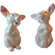 Two Noritake Ceramic Bunny Rabbits
