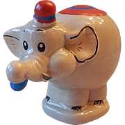 Ceramic Made In Brazil Circus Elephant