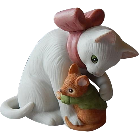 Sigma The Tastesetter Cat and Mouse Figurine