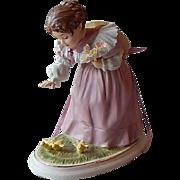 Maud Humphrey Bogart Little Chickadees Porcelain Figurine