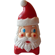 Carolina Emterprises Plastic Double Side Face Santa Claus Light Up
