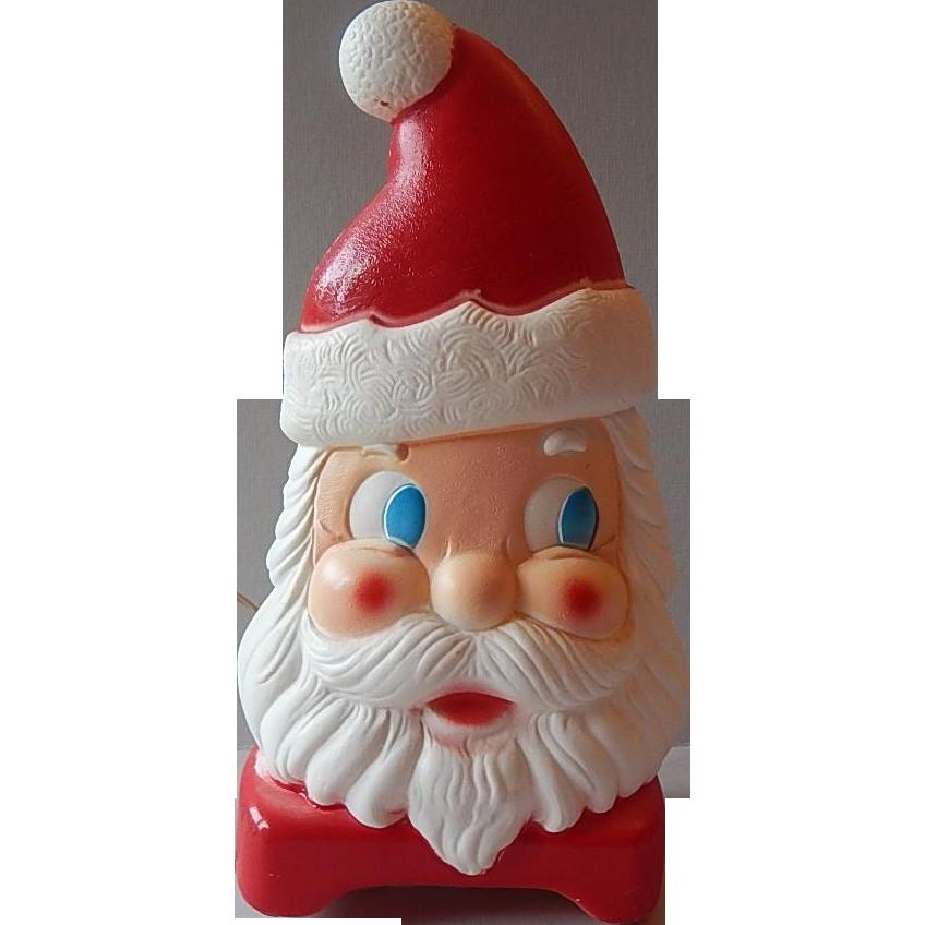 Carolina Emterprises Plastic Double Side Face Santa Claus Light Up
