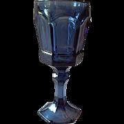 Forstoria Dark Blue Virginia Water Glass
