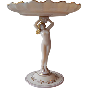 Cambridge Crown Tuscan Nude Shell Compote