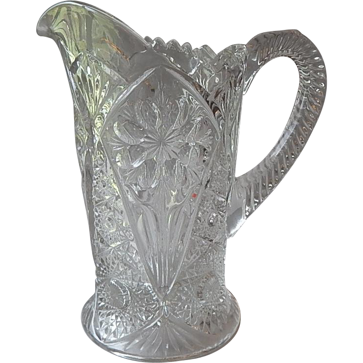 Cosmos Crystal Pitcher by Imperial Glass