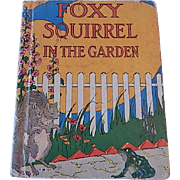 Foxy Squirrel I The Garden by clara Ingram Judson