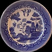Japanese Blue Willow Dinner Plate