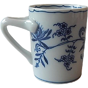 Blue Banube Can Shape Demitasse Cup