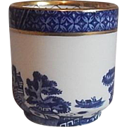 Royal Doulton Booths Real Blue Willow Egg Cup