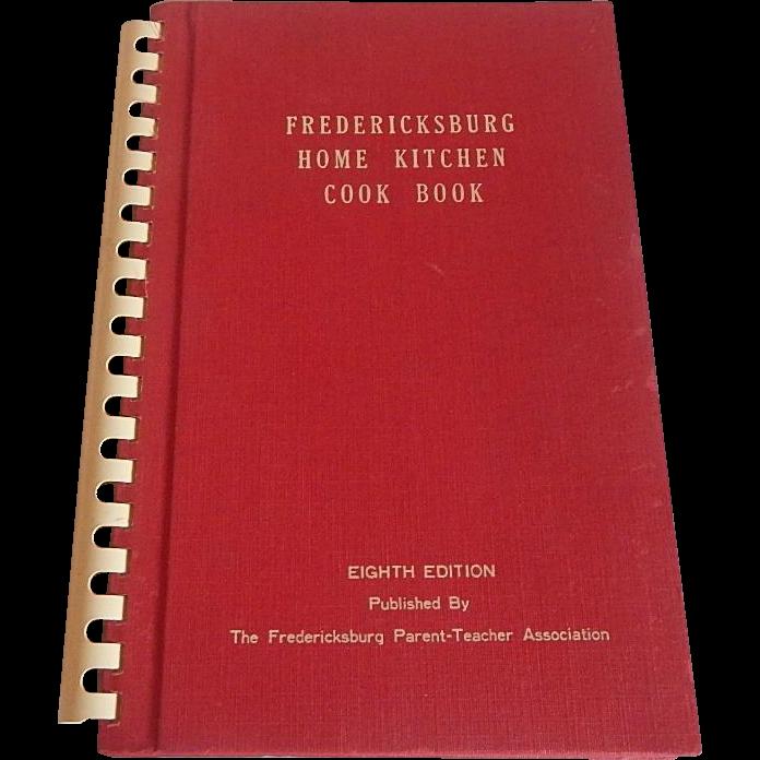 Fredericksburg Home Kitchen Cookbook