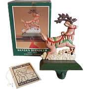 Midwest Of Cannon Falls Reindeer Christmas Stocking Holder