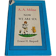 A.A. Milne Now We Are Six