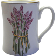 "Vegetable Harvest ""Asparagus"" Mug by Fitz & Floyd"
