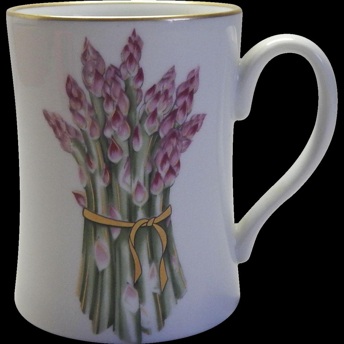 """Vegetable Harvest """"Asparagus"""" Mug by Fitz & Floyd"""