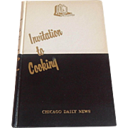 Invitation to Cooking Chicago Daily News