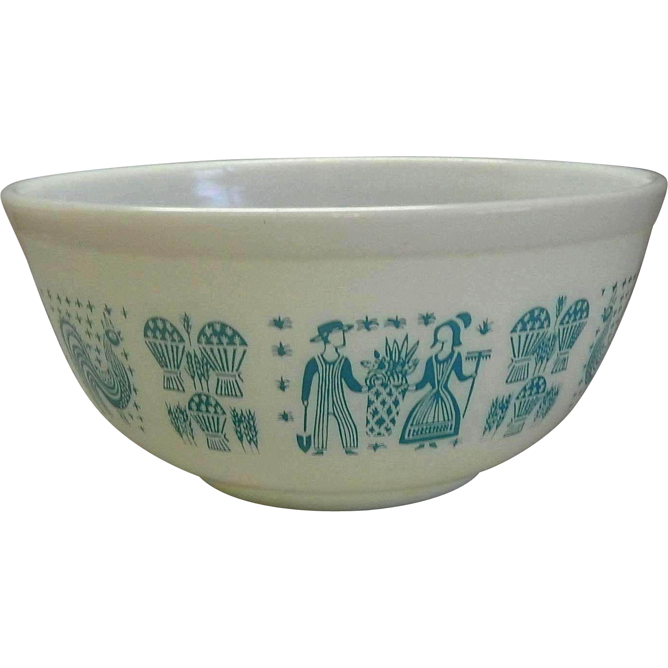 Butterprint Mixing Bowl by Pyrex