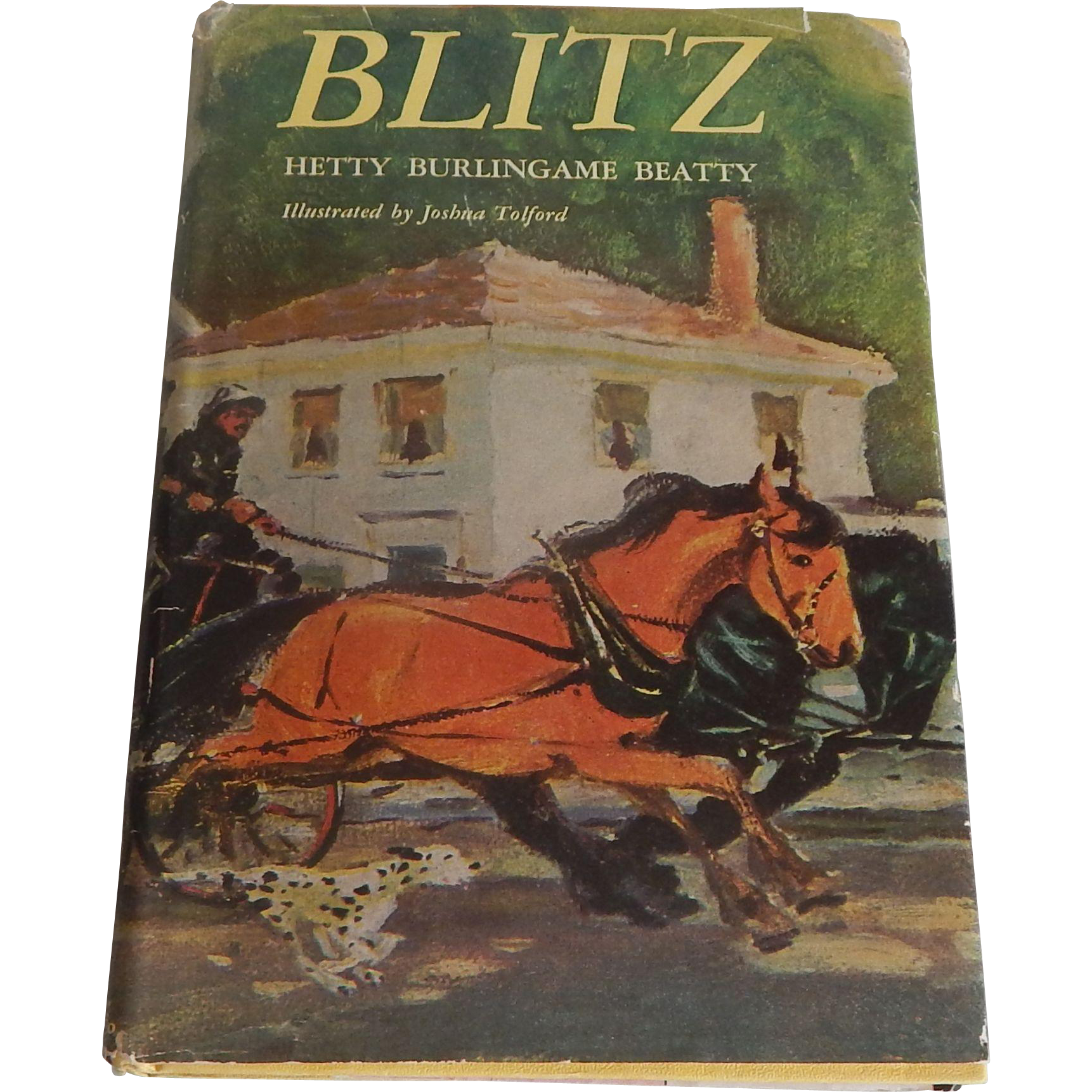 Blitz by Hetty Burlingame Beatty   Horse Story