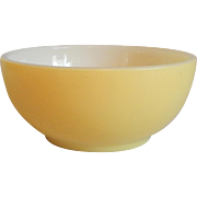 Fire King Yellow Cereal Bowl
