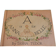 A is for Annabella by Tasha Tudor