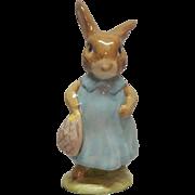Beatrix Potter Mrs. Floopsy Bunny Figurine