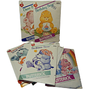 Nine Butterick Care Bears Patterns