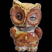 Shawnee Pottery Owl Cookie Jar