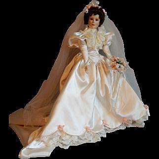 Ashton Drake Elizabeth Bride Doll