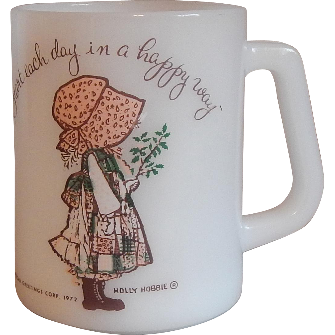 Federal Glass Holly Hobbie Mug