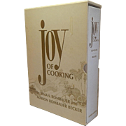 Joy Of Cooking 1977 Leatherette Cover with Slipcase