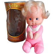 Mattel Toy Pork'n Beans Canned Beans Doll 1974