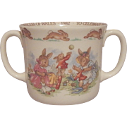 Royal Doulton Bunnykins Mug Commemorative Birth of Prince WIlliam
