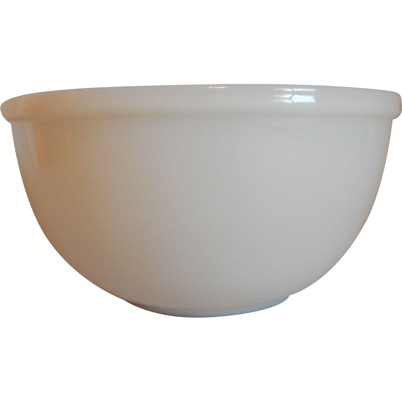 Fire King Ivory Mixing Bowl