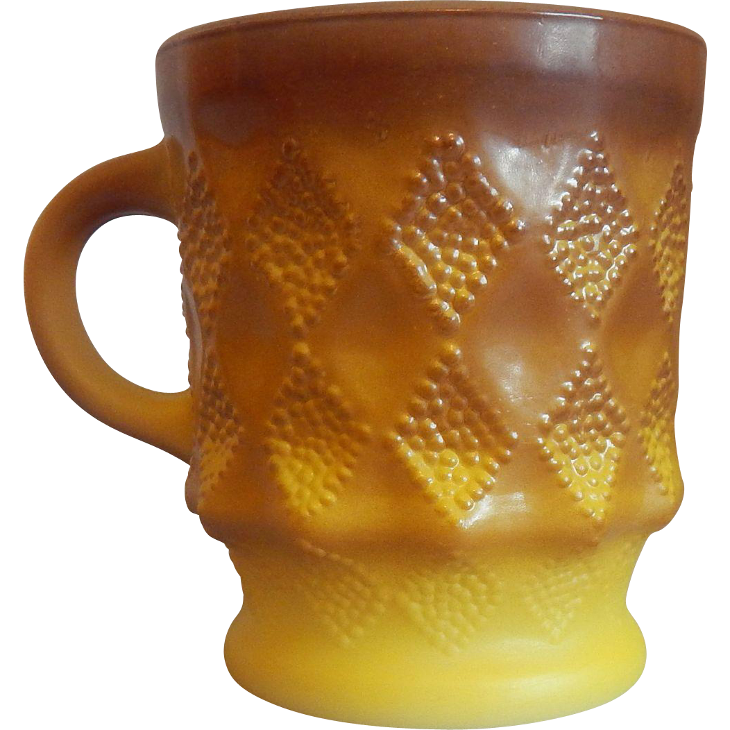 Anchor Hocking Fire King Kimberly Mug