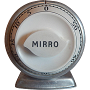 Lux Mirro Aluminum Kitchen Timer
