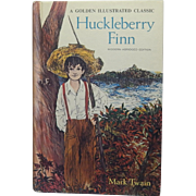 A Golden Illustrated Classic Huckleberry Finn