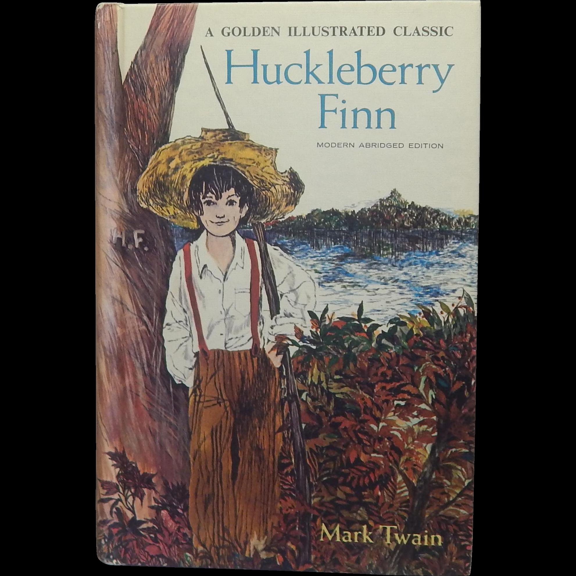 A Golden Illustrated Classic Huckleberry Finn