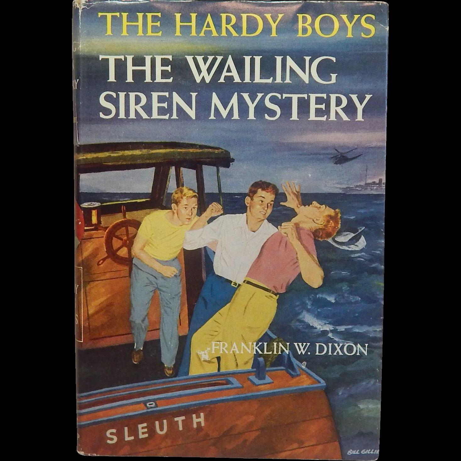 The Hardy Boys The Wailing Siren Mystery #30
