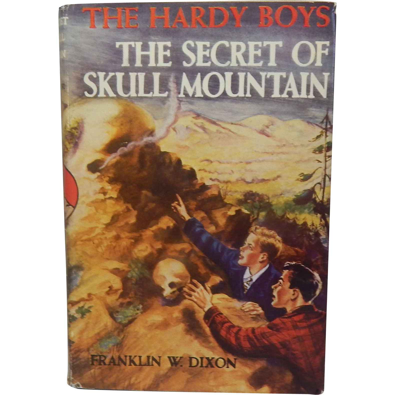 The Hardy Boys The Secret Of Skull Mountain #27