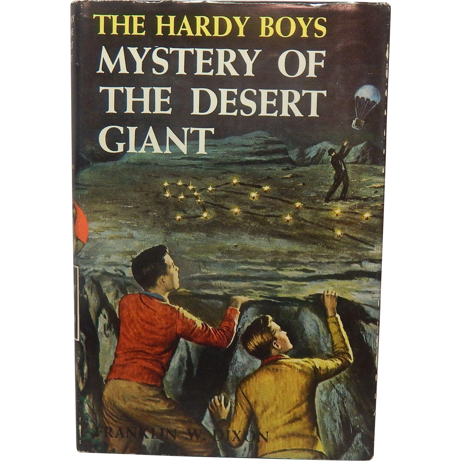 The Hardy Boys Mystery Of The Desert Giant