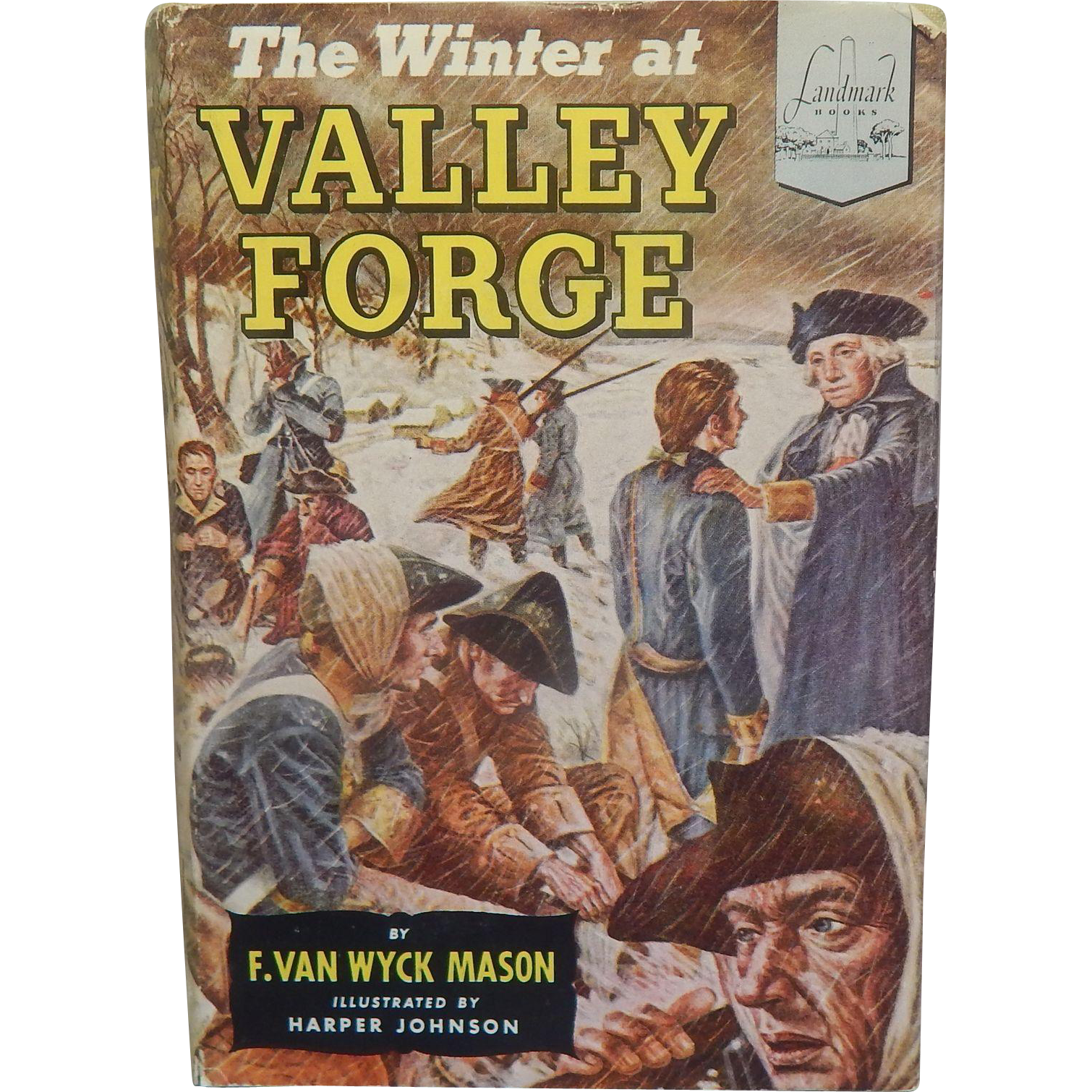 Landmark Book The Winter At Valley Forge #33