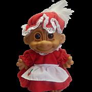 Russ Christmas Mrs. Santa Claus Troll Doll