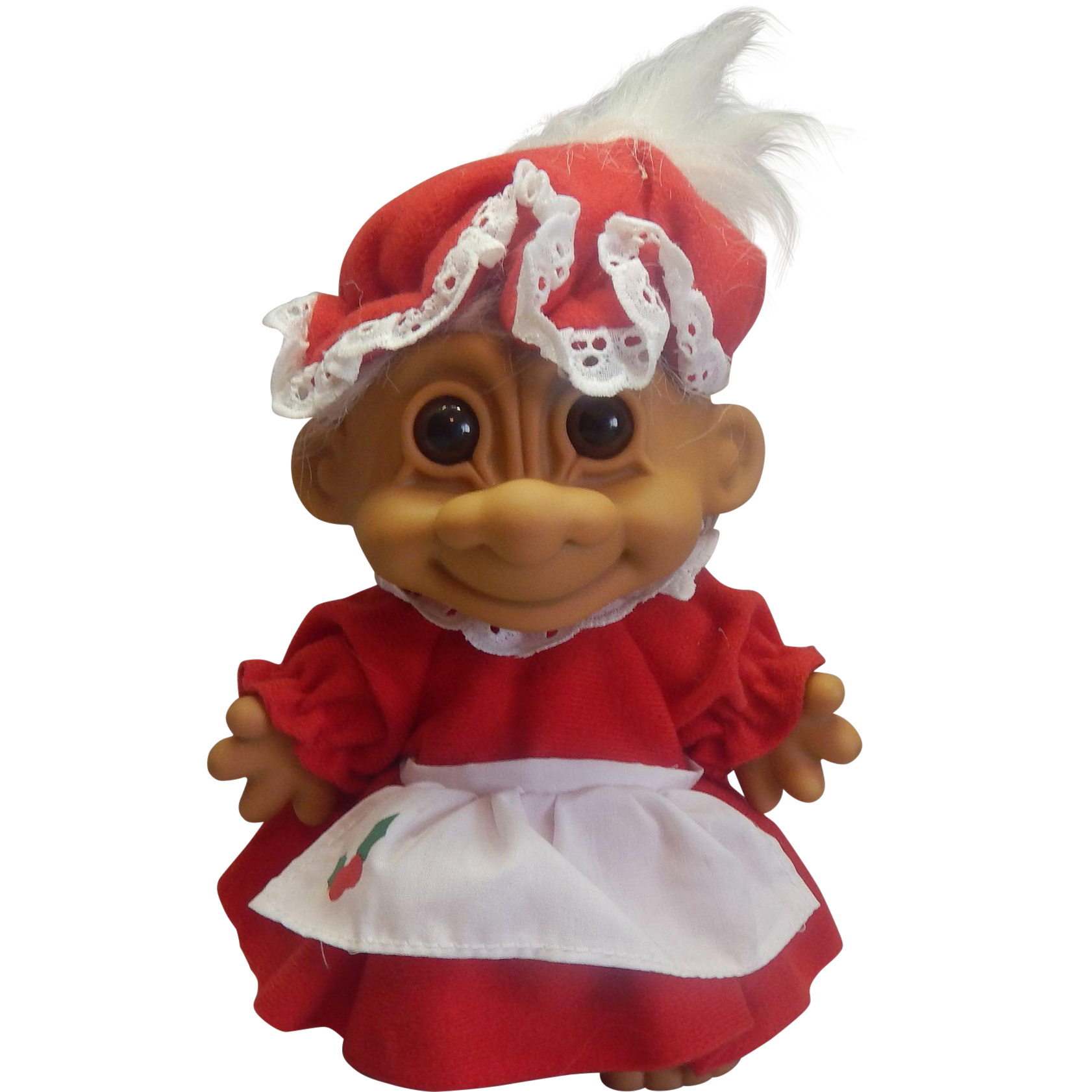 Russ Christmas Mrs. Santa Claus Troll Doll