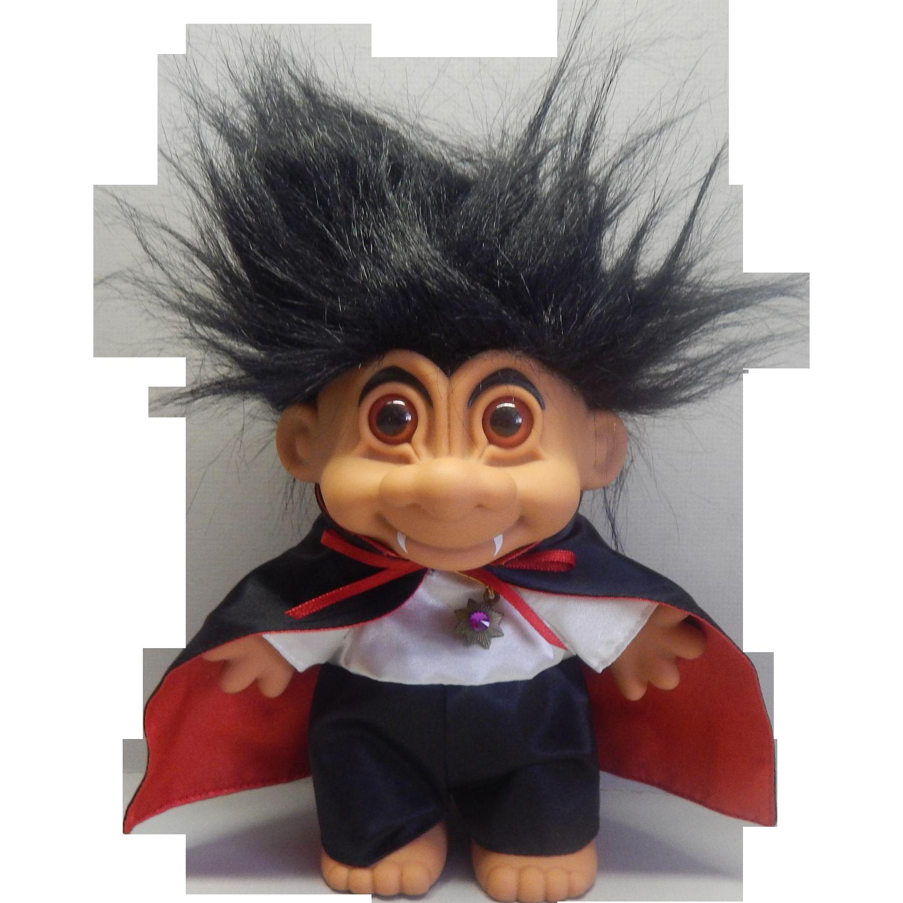 Russ Berrie Dracula Troll Doll