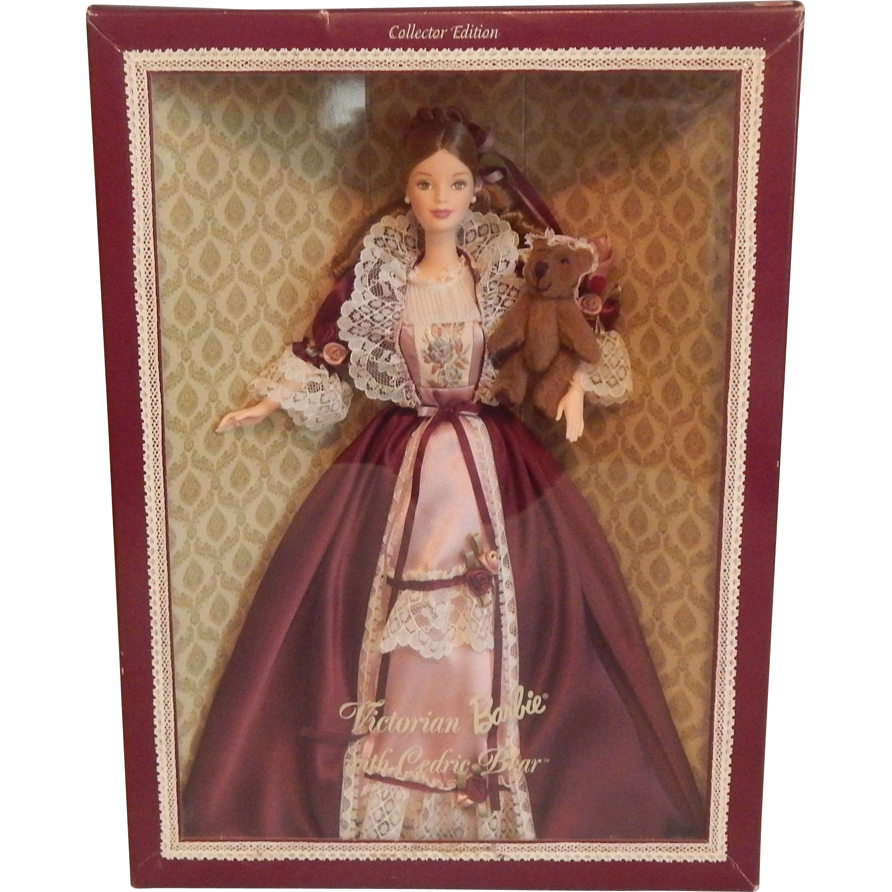 Victorian Barbie with Cedric Bear