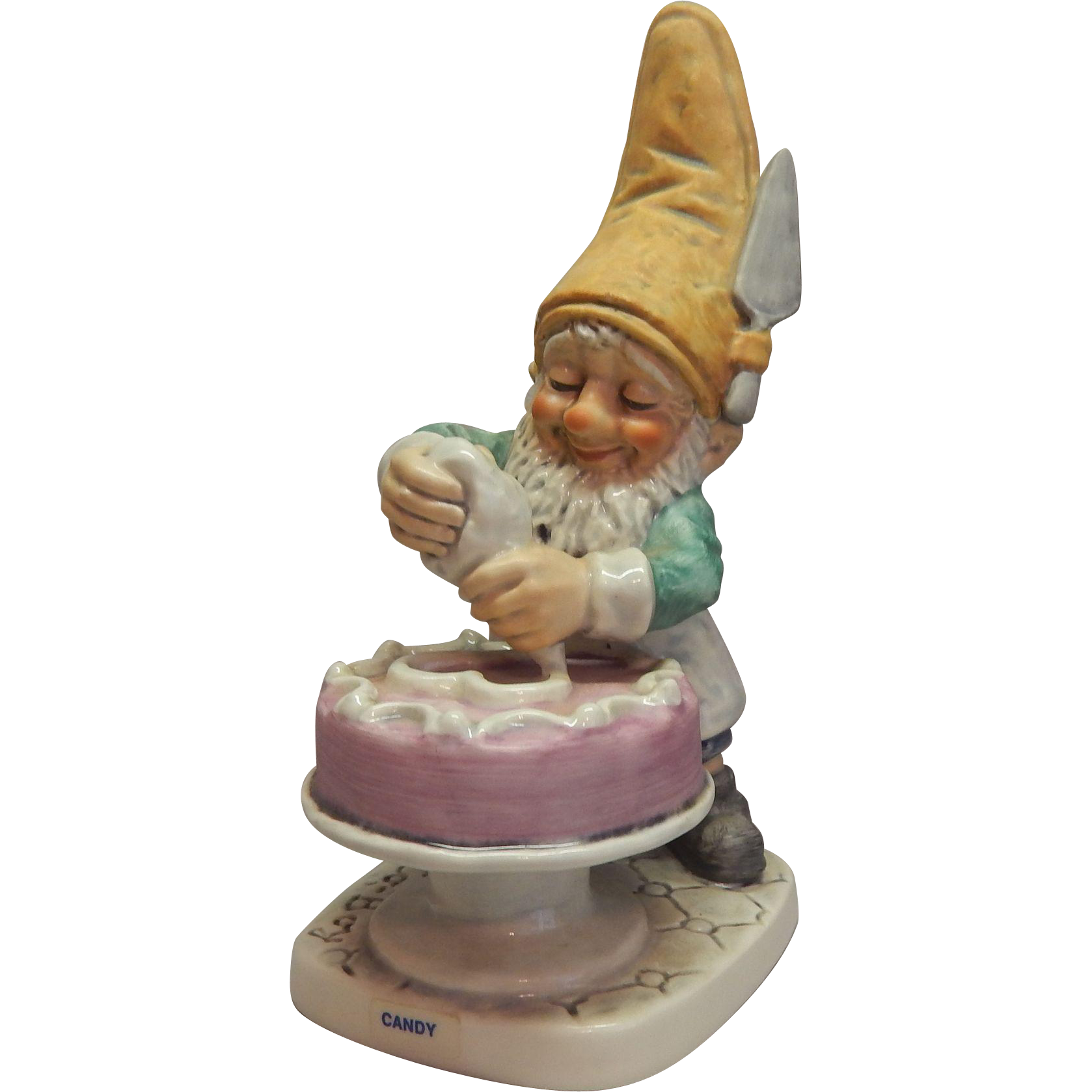 Goebel Co-Boy Candy The Confectioner Gnome Figurine
