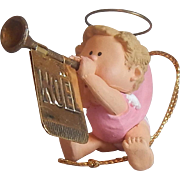 Hallmark Keepsake Musical Angel Ornament