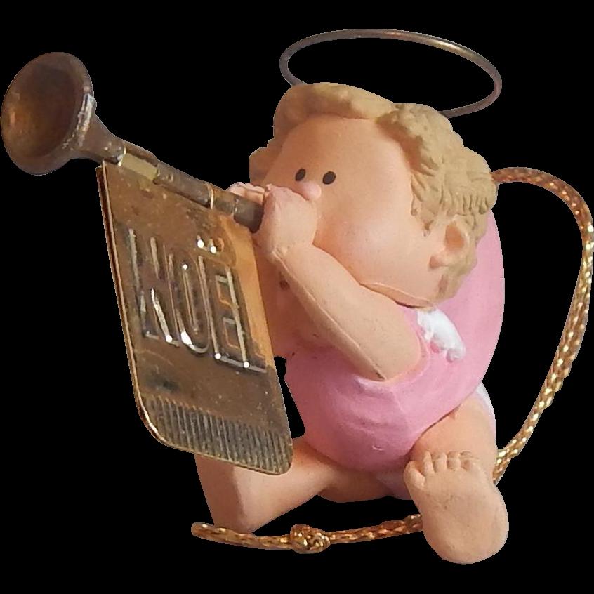 Hallmark Keepsake Musical Angel Ornament